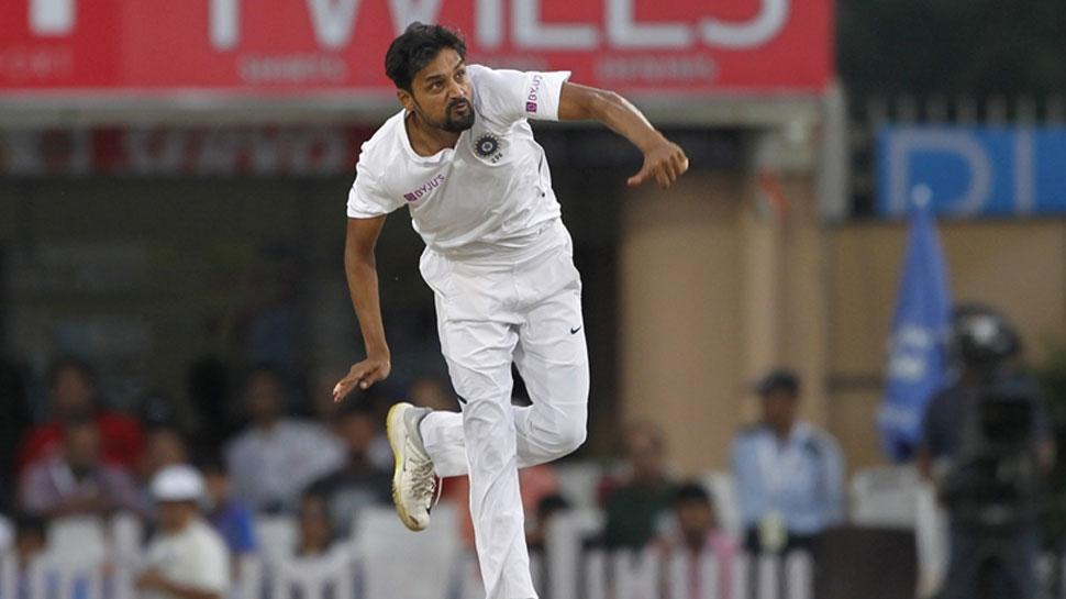 Maiden wicket of Nadeem