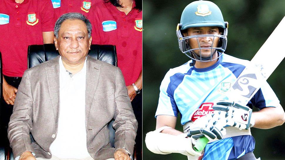 बांग्लादेश: क्रिकेटरों की हड़ताल को BCB अध्यक्ष ने बताया साजिश, गांगुली भी चिंतित नहीं