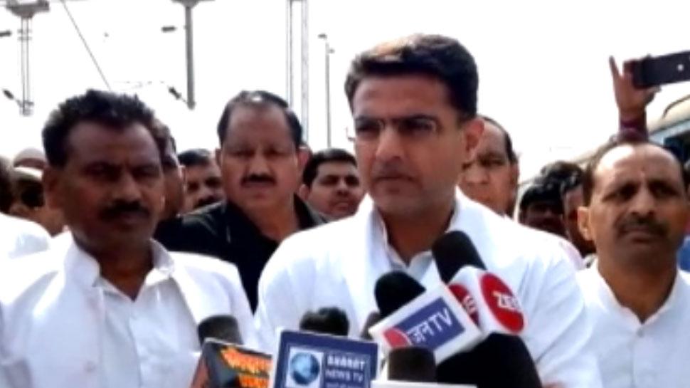 आज भरतपुर दौरे पर हैं सचिन पायलट, कहा- निकाय चुनाव लड़ेगी कांग्रेस