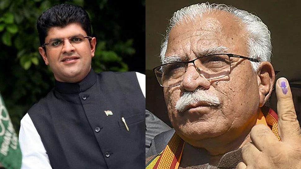 Haryana assembly election result 2019 : हरियाणा में BJP बना सकती है सरकार, दुष्यंत चौटाला दे सकते हैं समर्थन: सूत्र