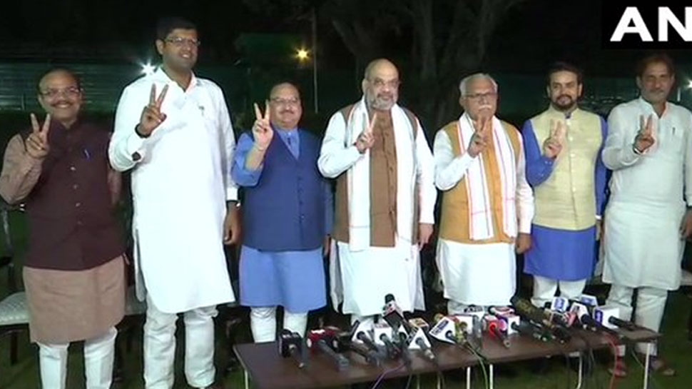 हरियाणा सरकार में BJP का मुख्यमंत्री और JJP का होगा उप मुख्यमंत्री: अमित शाह