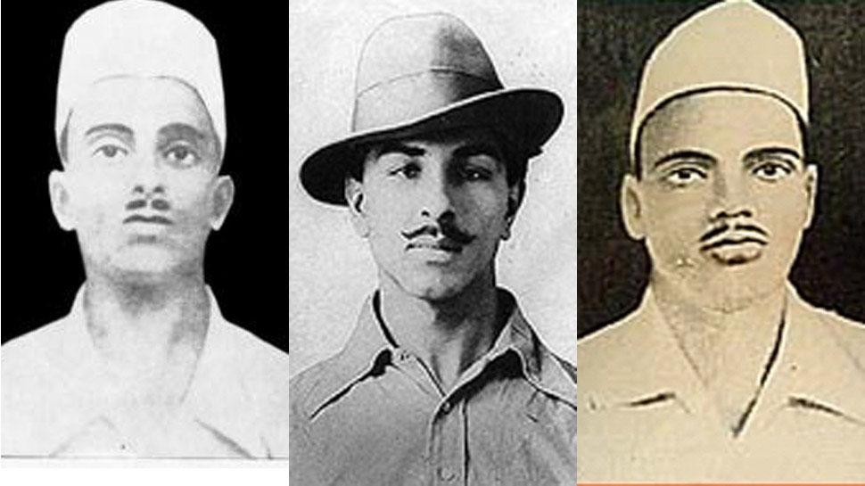 कांग्रेस ने PM मोदी से की मांग, भगत सिंह, राजगुरु, सुखदेव को दिया जाए भारत रत्न