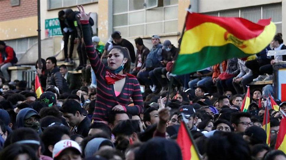 बोलीविया की जनता हुई राष्ट्रपति के खिलाफ, पूरे देश में अफरा तफरी का माहौल