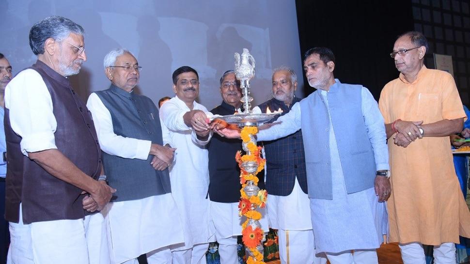 CM नीतीश ने 'जल-जीवन-हरियाली' के तहत किया कई योजनाओं का उद्घाटन, शिलान्यास