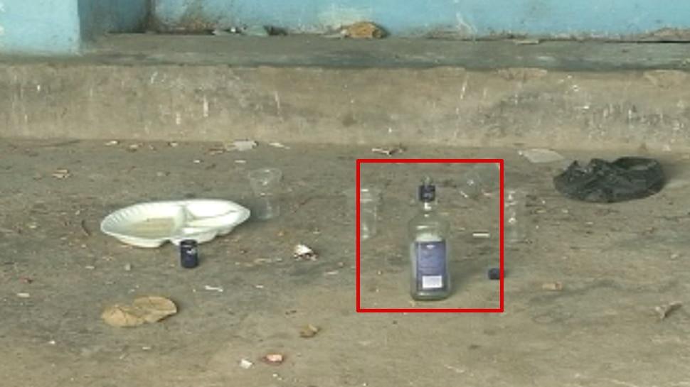 बिहार: MLC आवासीय परिसर में मिली शराब की बोतल, कांग्रेस ने साधा सरकार पर निशाना