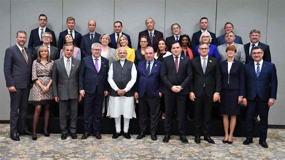 आज कश्मीर जाएगा यूरोपीय संघ का प्रतिनिधिमंडल, जाने से पहले PM मोदी से मिला