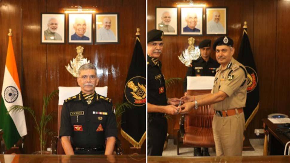 गुजरात कैडर के IPS अनूप कुमार सिंह ने NSG प्रमुख का पदभार संभाला