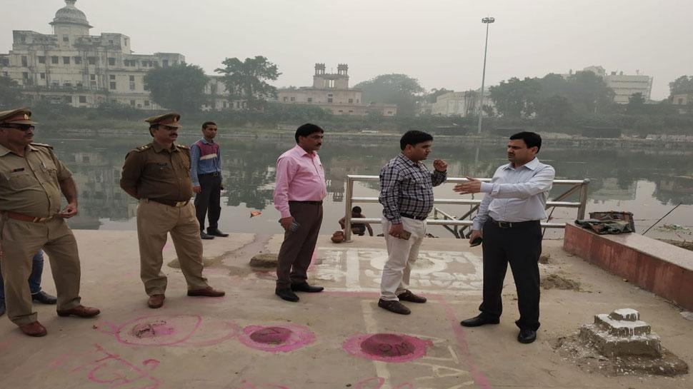 छठ पूजा के लिए लखनऊ में तैयारियां तेज, घाटों पर मौजूद रहेगी NDRF और SDRF की टीम