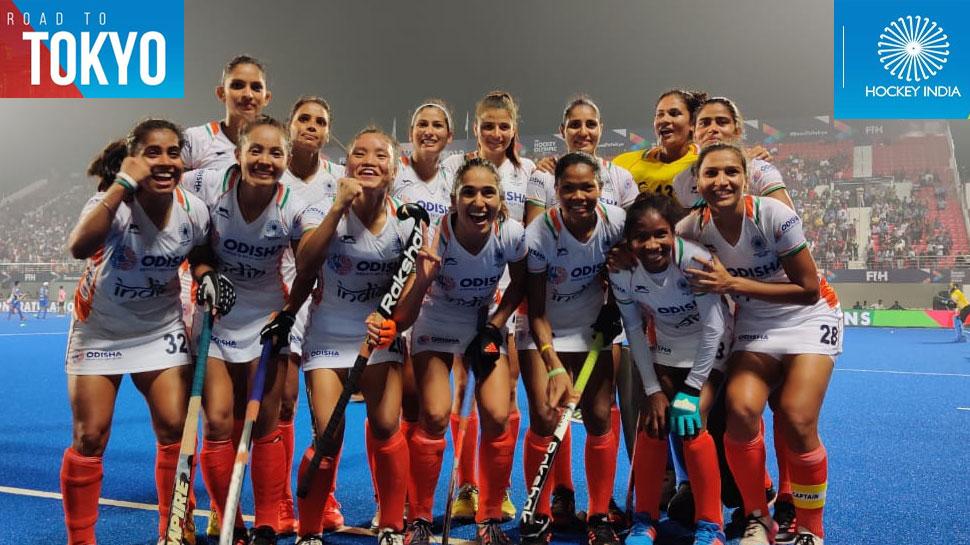 भारतीय महिला हॉकी टीम ने टोक्यो ओलंपिक के लिए किया क्वालिफाई, USA को 6-5 से हराया