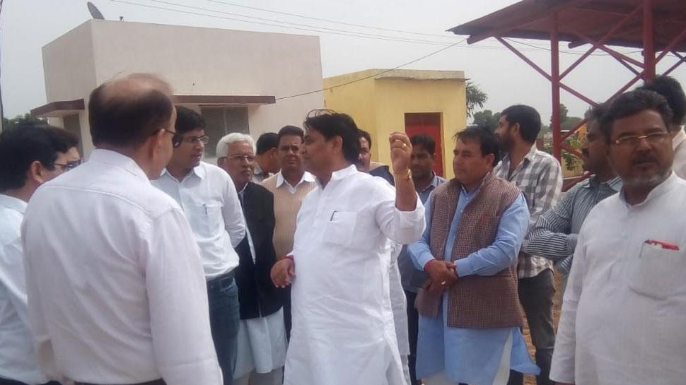 सीकर: लक्ष्मणगढ़ पहुंचे शिक्षा मंत्री गोविंद सिंह डोटासरा, विकास कार्यों का जाना हाल