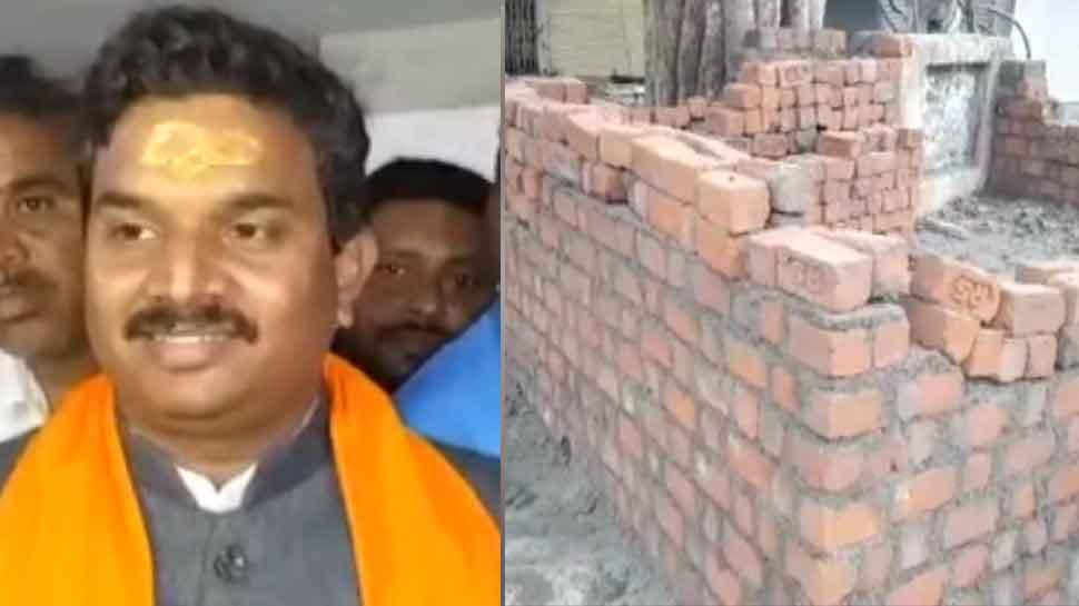 MP: देवास सांसद ने तोड़ी पुलिस चौकी की दीवार, SP ने दर्ज किया केस