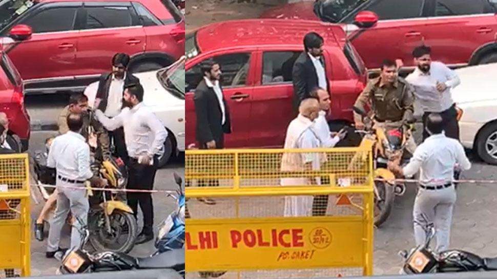 वकीलों द्वारा पुलिसकर्मी की पिटाई पर IPS का ट्वीट- हम पुलिस हैं, हमारा वजूद नहीं, परिवार नहीं