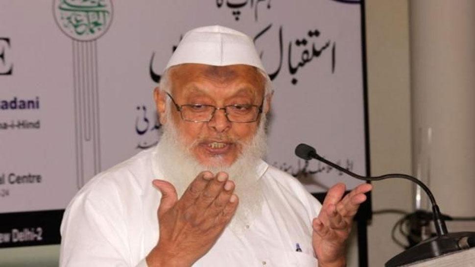 अयोध्या मुद्दे पर सबूतों के आधार पर दिया गया सुप्रीम कोर्ट का फैसला हमें मान्य होगा: मौलाना सैयद अरशद मदनी