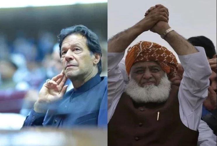 कुर्सी बचाने के लिए आंदोलनकारियों की सभी मांगे मानने को तैयार हुए इमरान खान