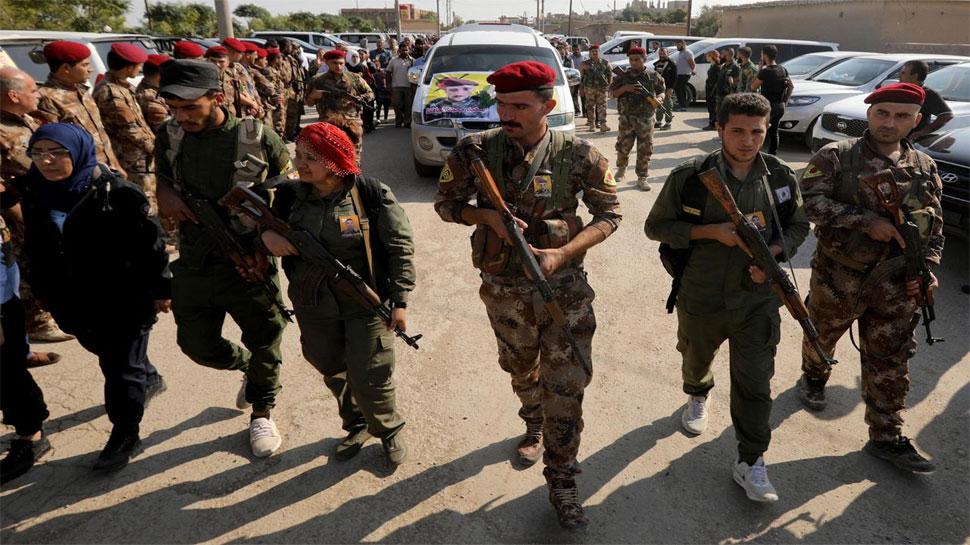 सीरिया : कुर्द-तुर्क समर्थित बलों के बीच हिंसा, 30 की मौत
