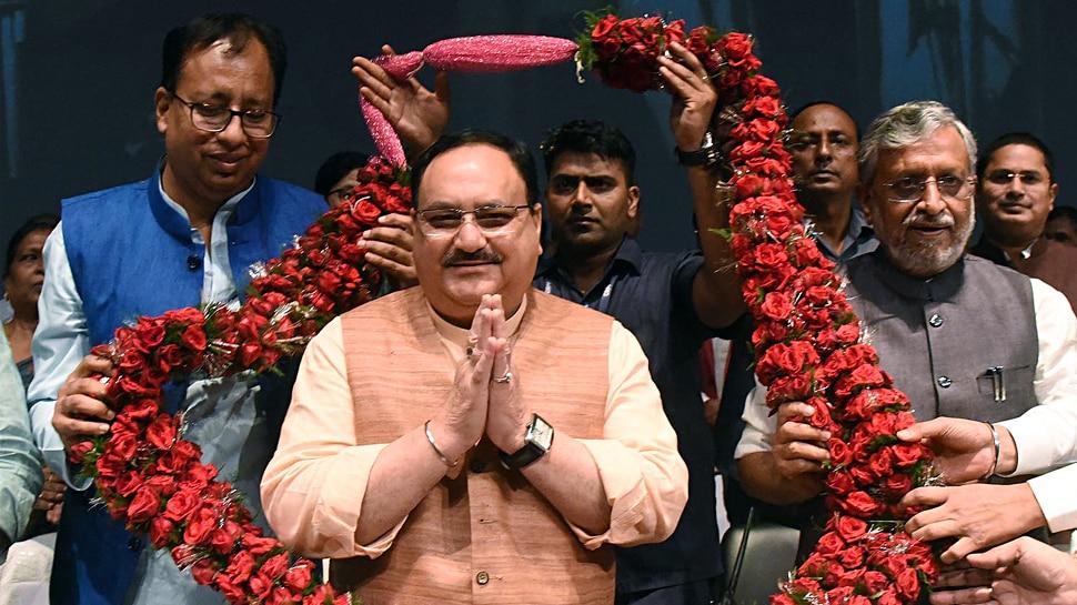 एक दिन के बिहार दौरे से भाजपा कार्यकारी अध्यक्ष जेपी नड्डा ने कई मोर्चे साधे