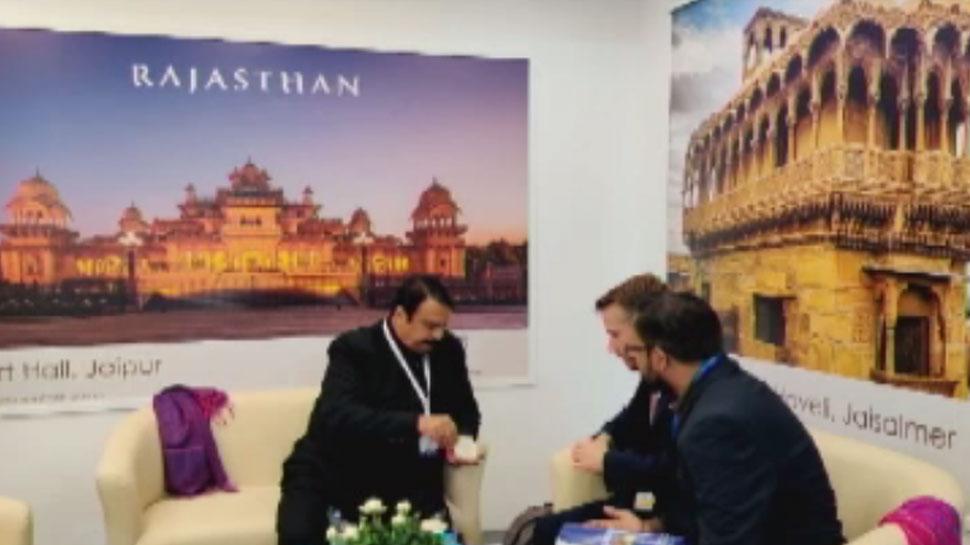 विदेशी पर्यटन मार्ट लंडन में आकर्षण का केंद्र बना राजस्थान, पर्यटकों ने की सराहना