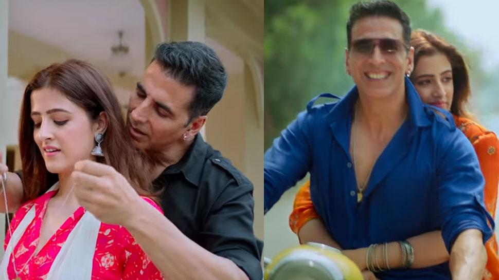 रोमांटिक अंदाज में दिखे अक्षय कुमार और नूपुर सेनन, देखिए 'फिलहाल' का TEASER