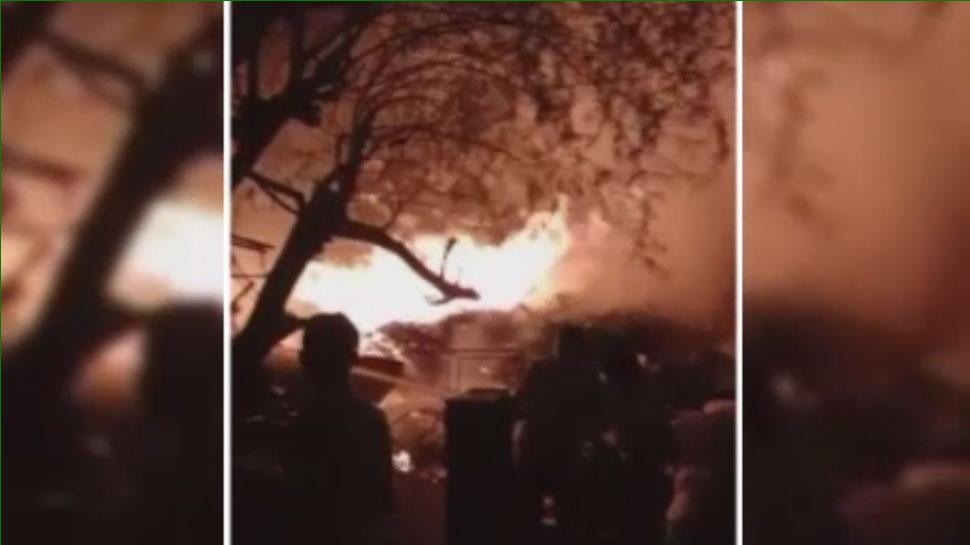 जोधपुर: कबाड़ी के गोदाम में देर रात लगी आग, कड़ी मशक्कत के बाद पाया गया काबू