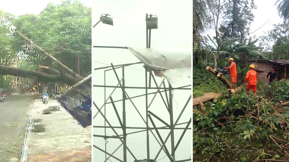 चक्रवाती तूफान 'बुलबुल' ने बरपाया कहर, पश्चिम बंगाल और ओडिशा में 3 की मौत