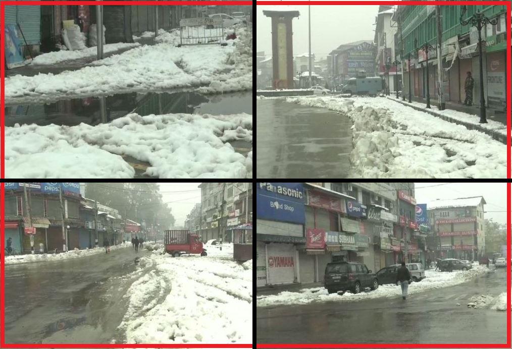 जम्मू-कश्मीर में मुसीबत बनी बर्फबारी! हिमाचल में भी जन-जीवन अस्त-व्यस्त