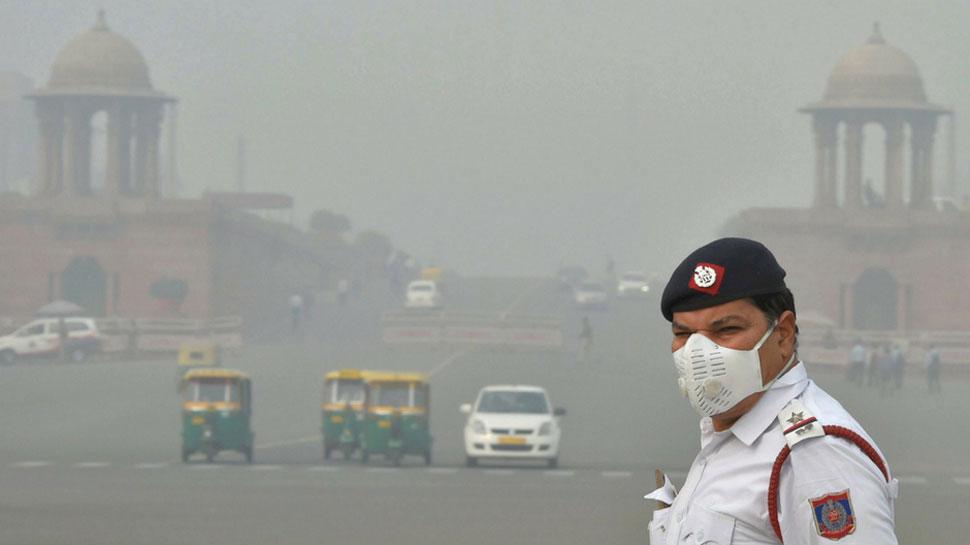 दिल्ली में प्रदूषण फिर से खतरनाक स्तर पर! हवा की कम रफ्तार बनी वजह