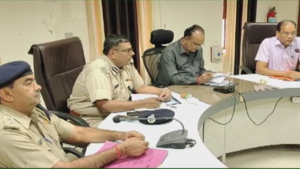 राजस्थान निकाय चुनाव 2019 से पहले संभागीय आयुक्त ने की कानून व्यवस्था की समीक्षा