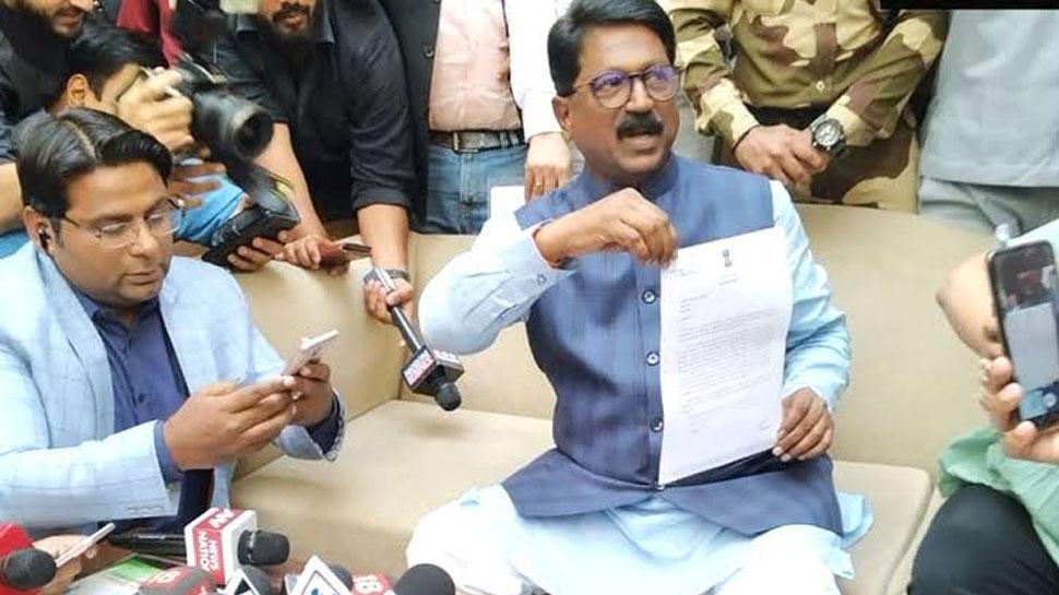 राष्ट्रपति ने स्वीकारा अरविंद सावंत का इस्तीफा, अब बीजेपी के यह नेता संभालेंगे मंत्रालय