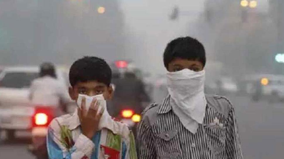 भीलवाड़ा: प्रदुषण से हो रही लोगों को परेशानी, दूषित हवा से सांस लेने में हो रही दिक्कत