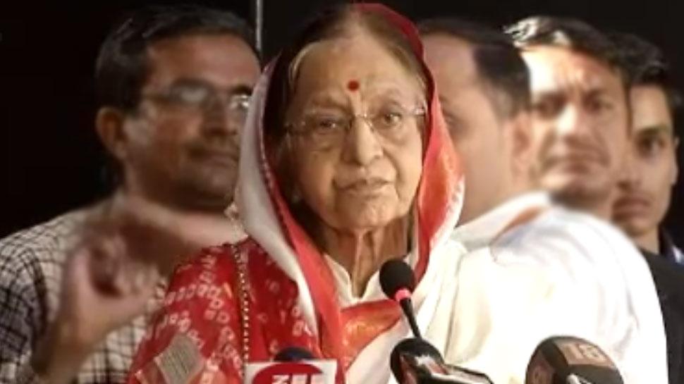 राजस्थान में एक परंपरा खत्म करना चाहती हैं पूर्व राष्ट्रपति प्रतिभा पाटिल, जानिए वजह