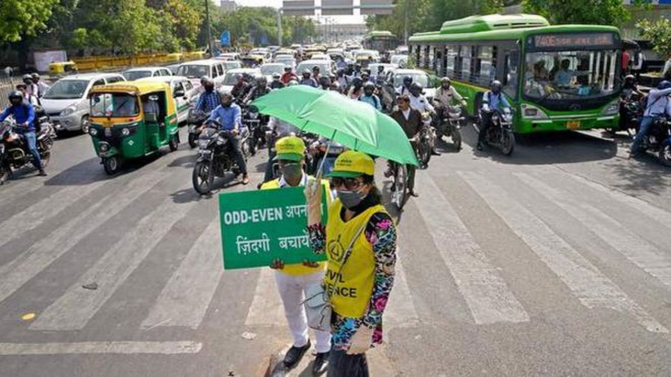 ऑड-ईवन के खिलाफ याचिका पर दिल्ली सरकार को नोटिस जारी, शुक्रवार को होगी सुनवाई