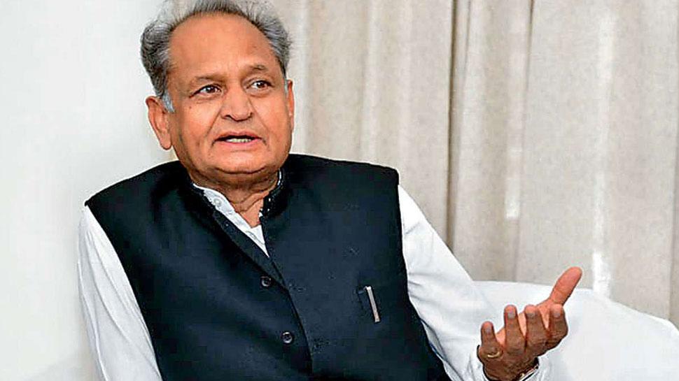 महाराष्ट्र में राष्ट्रपति शासन पर बोले अशोक गहलोत - राज्यपाल ने दिखाई जल्दबाजी