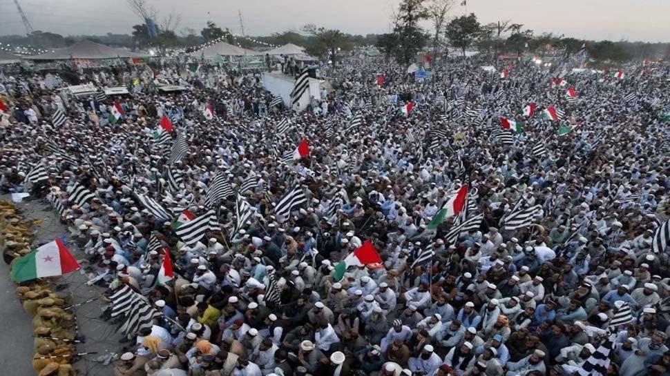 मौलाना फजलुर ने लगाई ऐसी आग- पाकिस्तान की गलियों में गूंजने लगा- इमरान इस्तीफा दो