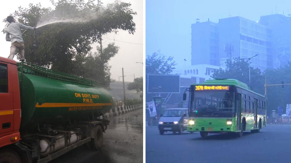 दिल्ली में सांस लेना हुआ दूभर, प्रदूषण का स्तर खतरनाक; स्कूलों की छुट्टी