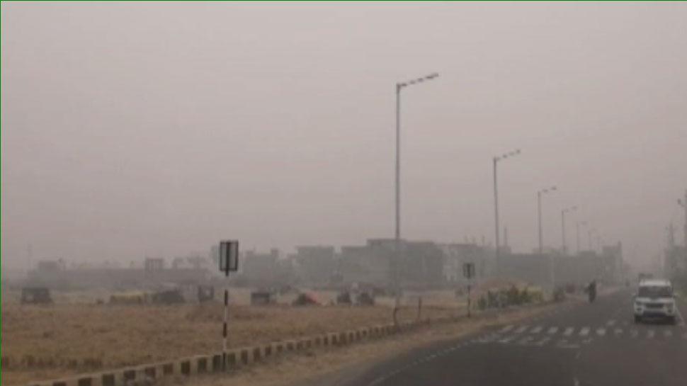 हनुमानगढ़ में प्रदूषण ने तोड़ा रिकॉर्ड, आमजन को हो रही परेशानी