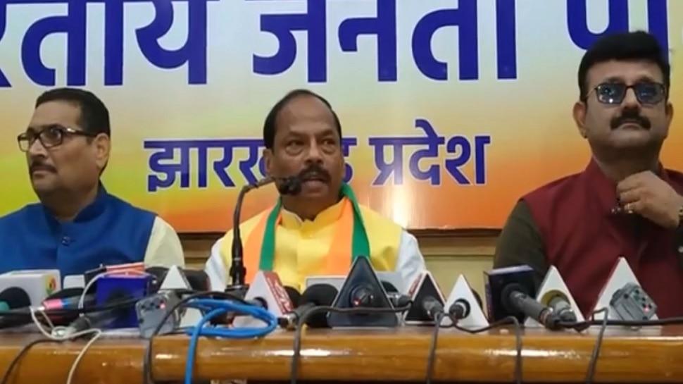 रांची: CM रघुवर बोले- माफी मांगें राहुल गांधी, कांग्रेस ने जनता की आंख में धूल झोंका
