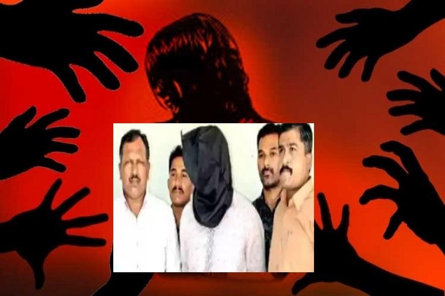 गुजरात में दरिंदा अकबर गिरफ्तार,गैंग के साथ पति के सामने करता था पत्नी से रेप