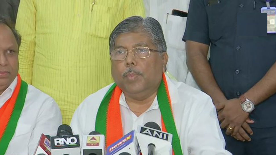 महाराष्ट्र BJP अध्यक्ष चंद्रकांत पाटिल बोले - हमारी पार्टी के बिना कोई सरकार नहीं बन सकती