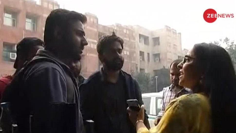 JNU कैंपस में Zee News की टीम के साथ हुए बुरे बर्ताव की ABVP ने की निंदा