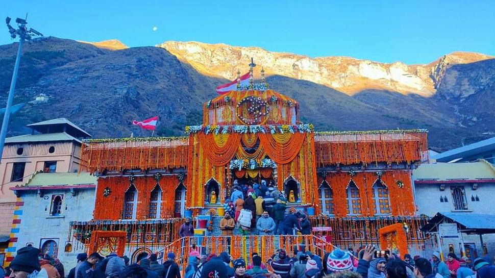 आज बंद हो जाएंगे बद्रीनाथ धाम के कपाट, दर्शन के लिए उमड़ी श्रद्धालुओं की भीड़