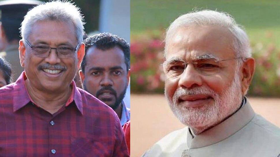 प्रधानमंत्री मोदी ने गोतबया राजपक्षे को श्रीलंका के राष्ट्रपति चुने जाने पर दी बधाई