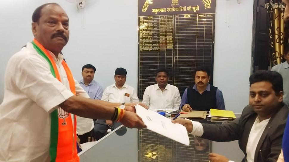 Jharkhand Assembly Elections: रघुवर दास ने जमशेदपुर (पूर्वी) सीट से किया नामांकन