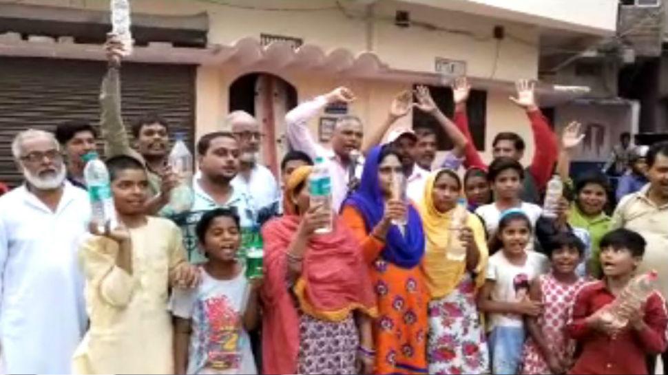 बिहार: पटना सिटी में गंदे के सप्लाई से लोग हुए आक्रोशित, जमकर किया हंगामा-प्रदर्शन