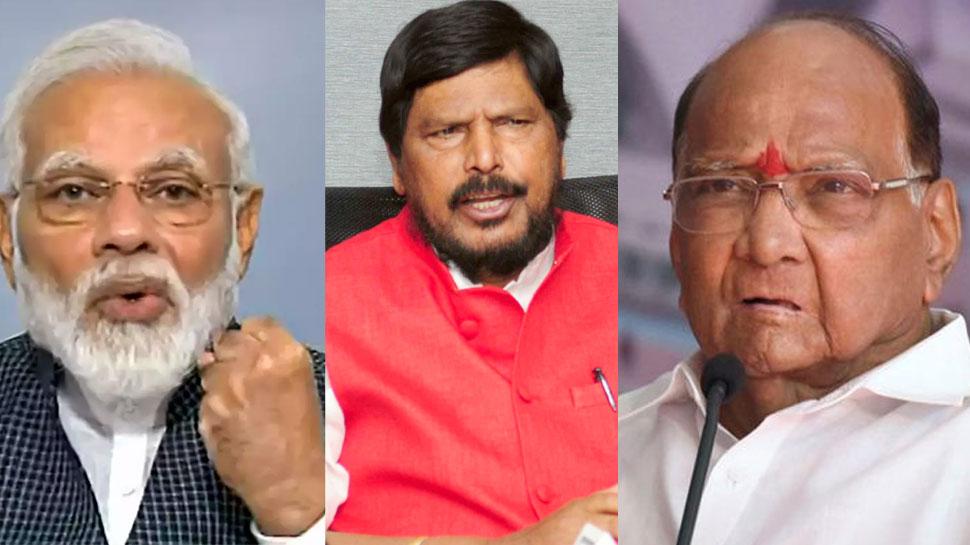 PM मोदी, अठावले और पवार के बयान से बढ़ा कंफ्यूजन, NCP मारेगी बाजी या शिवसेना का कटेगा पत्ता?