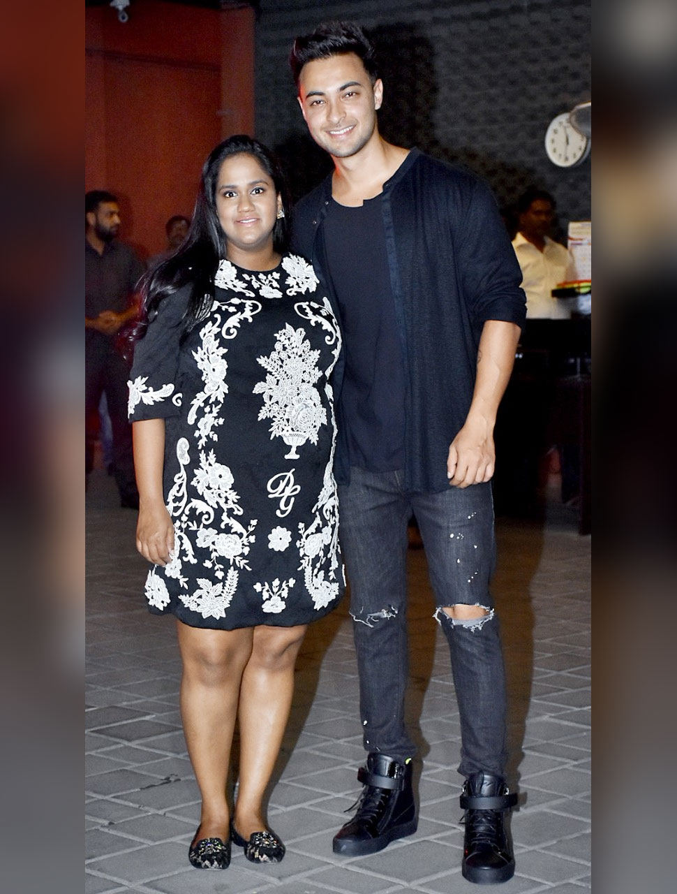 arpita khan and aayush sharma celebrating their wedding anniversary at their residence