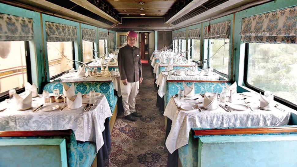 पैलेस ऑन व्हील्स की तर्ज पर दक्षिण भारत में चलेगी 'गोल्डन चैरियट ट्रेन'