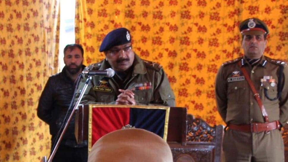 पाकिस्तान किसी भी तरह से जम्मू कश्मीर के लोगों का दोस्त नहीं है: DGP दिलबाग सिंह
