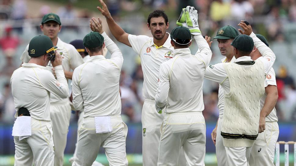 AUS vs PAK: ऑस्ट्रेलिया ने पाक को 240 पर समेटा, असद शफीक की फिफ्टी ने बचाया टीम को