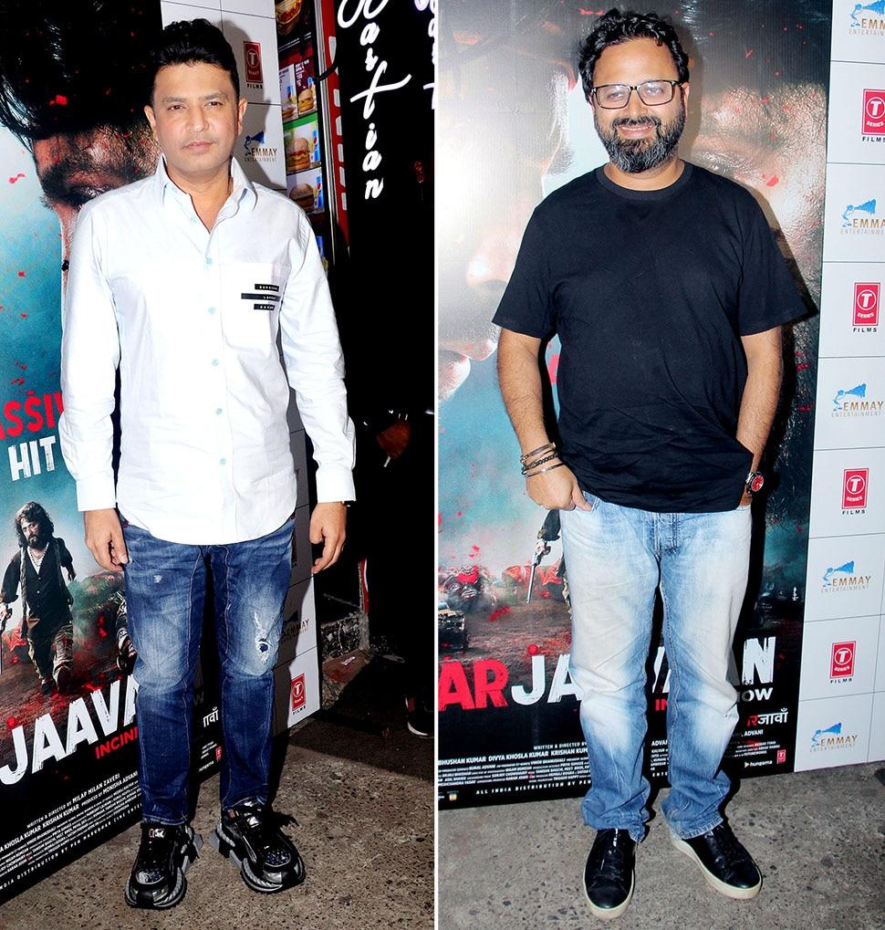 Riteish Deshmukh and Sidharth Malhotra etc at movie of Marjaavaan success party