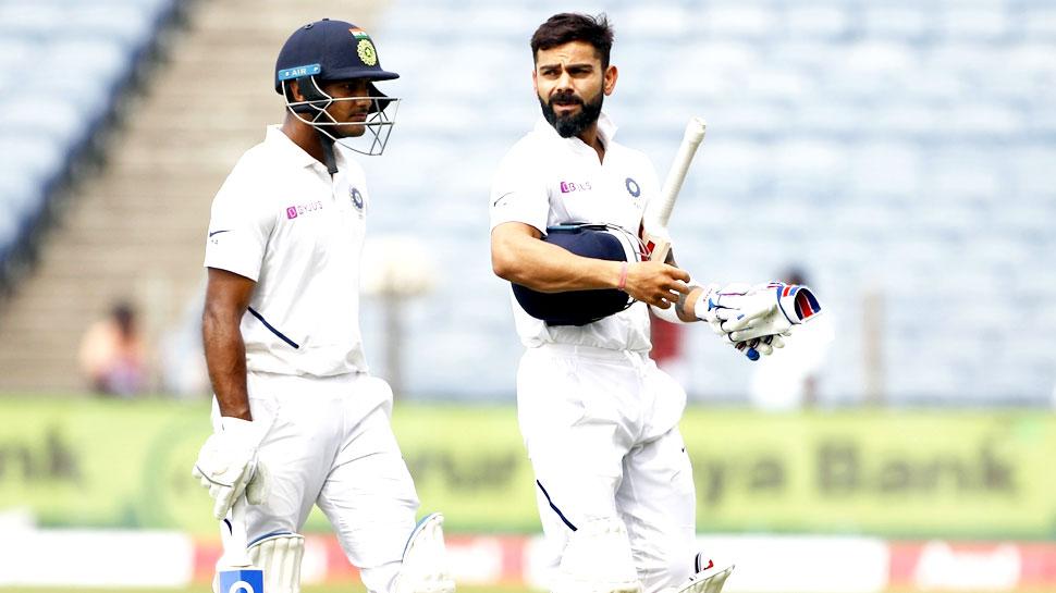INDvsBAN 2nd test: बांग्लादेश 106 पर सिमटा; पुजारा-कोहली की फिफ्टी, भारत को 68 रन की बढ़त